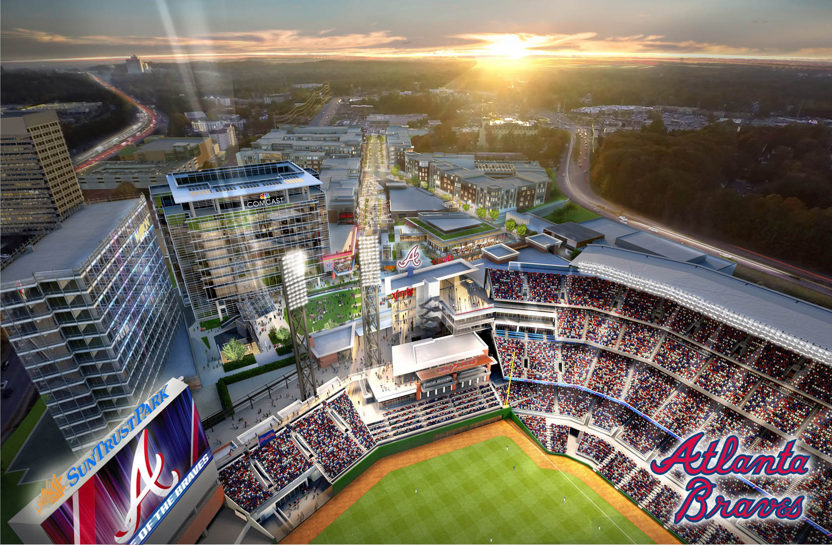 SunTrust Park Parking Plan Released