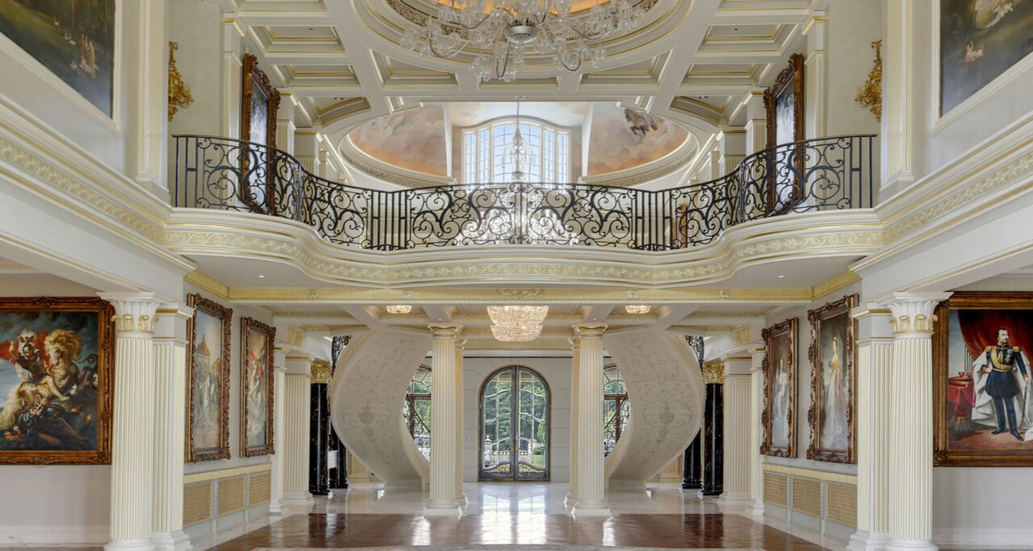 photos inside the guitar mansion - Inside Luxury Mansions