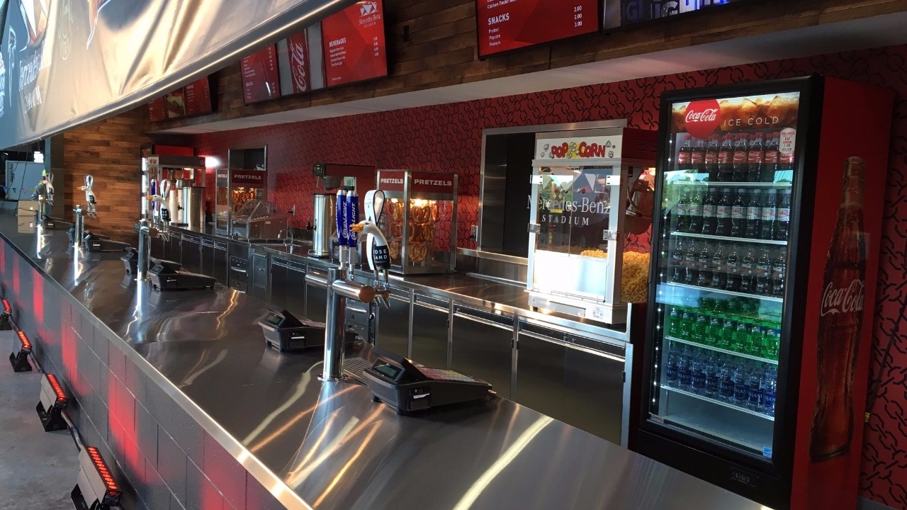 Mercedes benz stadium to offer food options for Mercedes benz stadium atlanta jobs