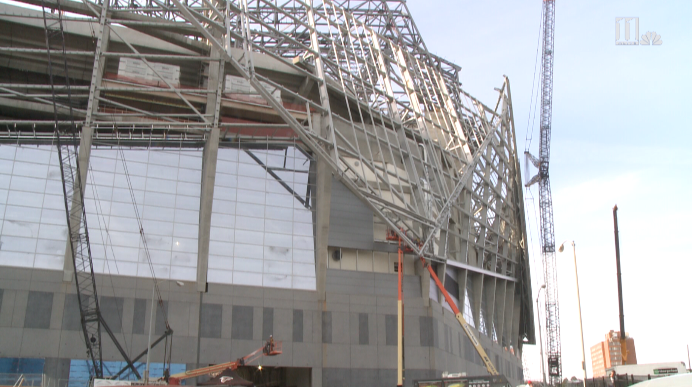 Mercedes benz stadium construction is back for Mercedes benz stadium calendar