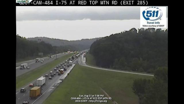 Webcam accidents on i 75