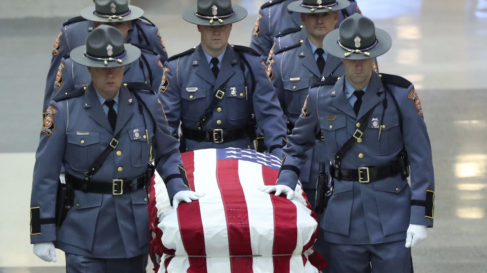 Final farewell for officer Jody Smith
