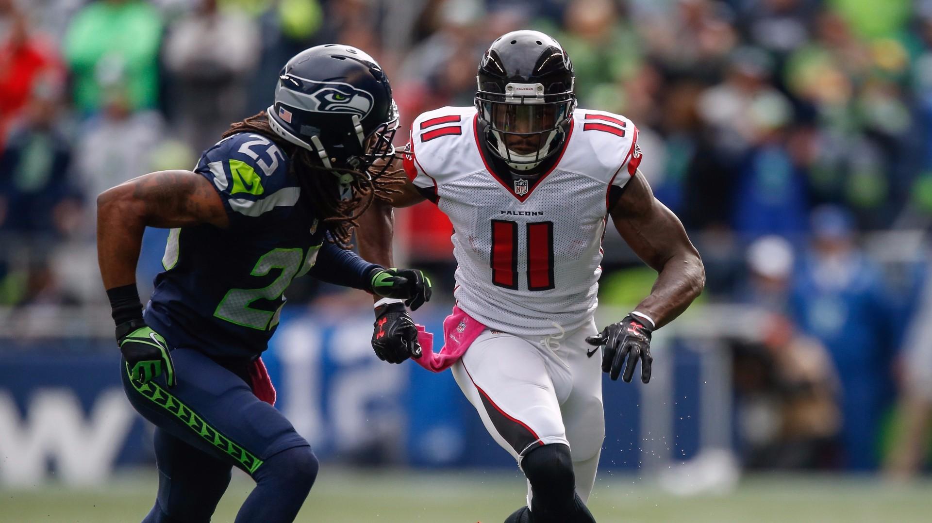 Atlanta Falcons v. Seattle Seahawks playoff