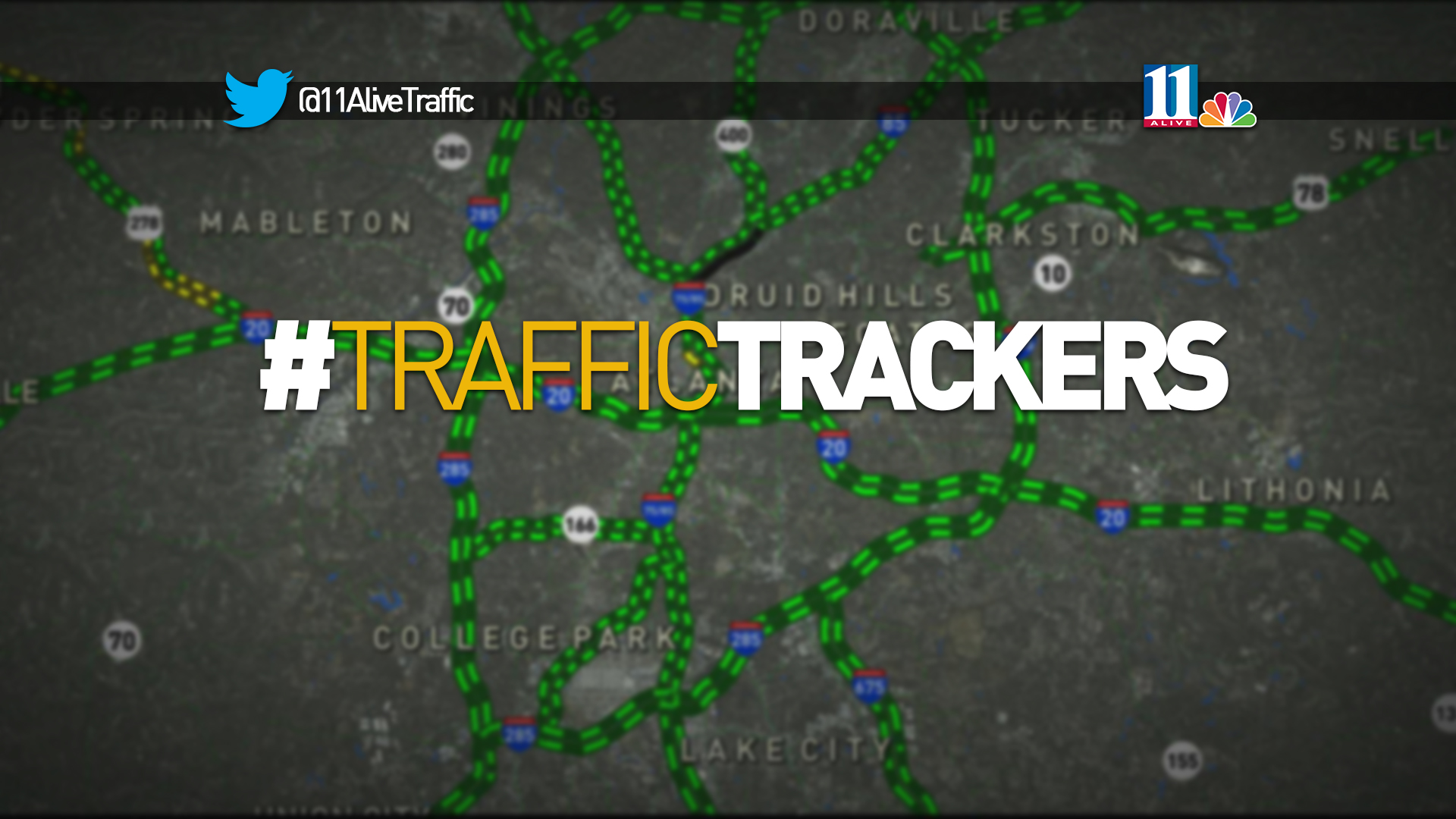 How To Get Into Atlanta After I Collapse Blocks Major Roads - Map of atlanta bypass