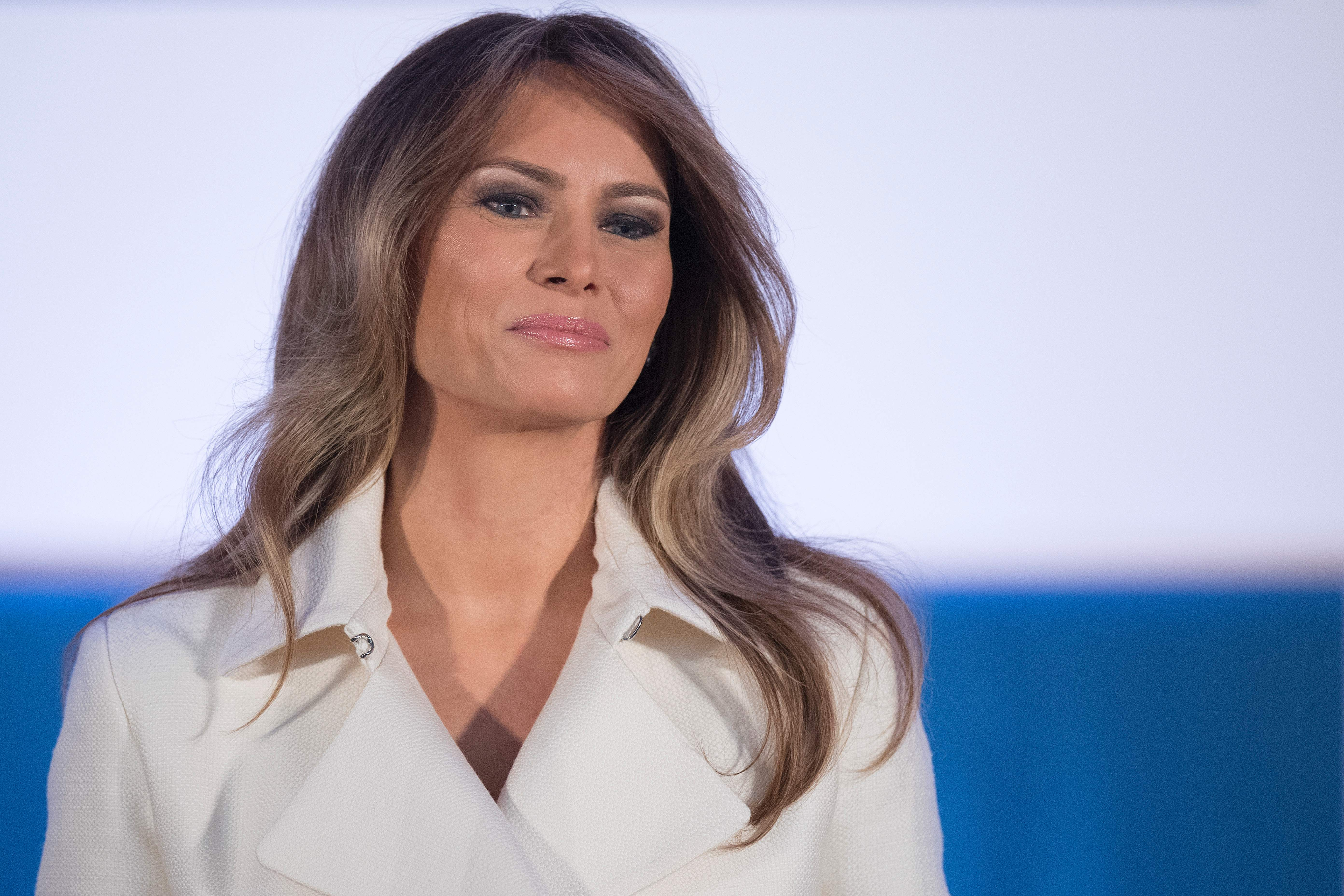 a26e7bc585c6 Melania Trump may be a mostly absent first lady so far