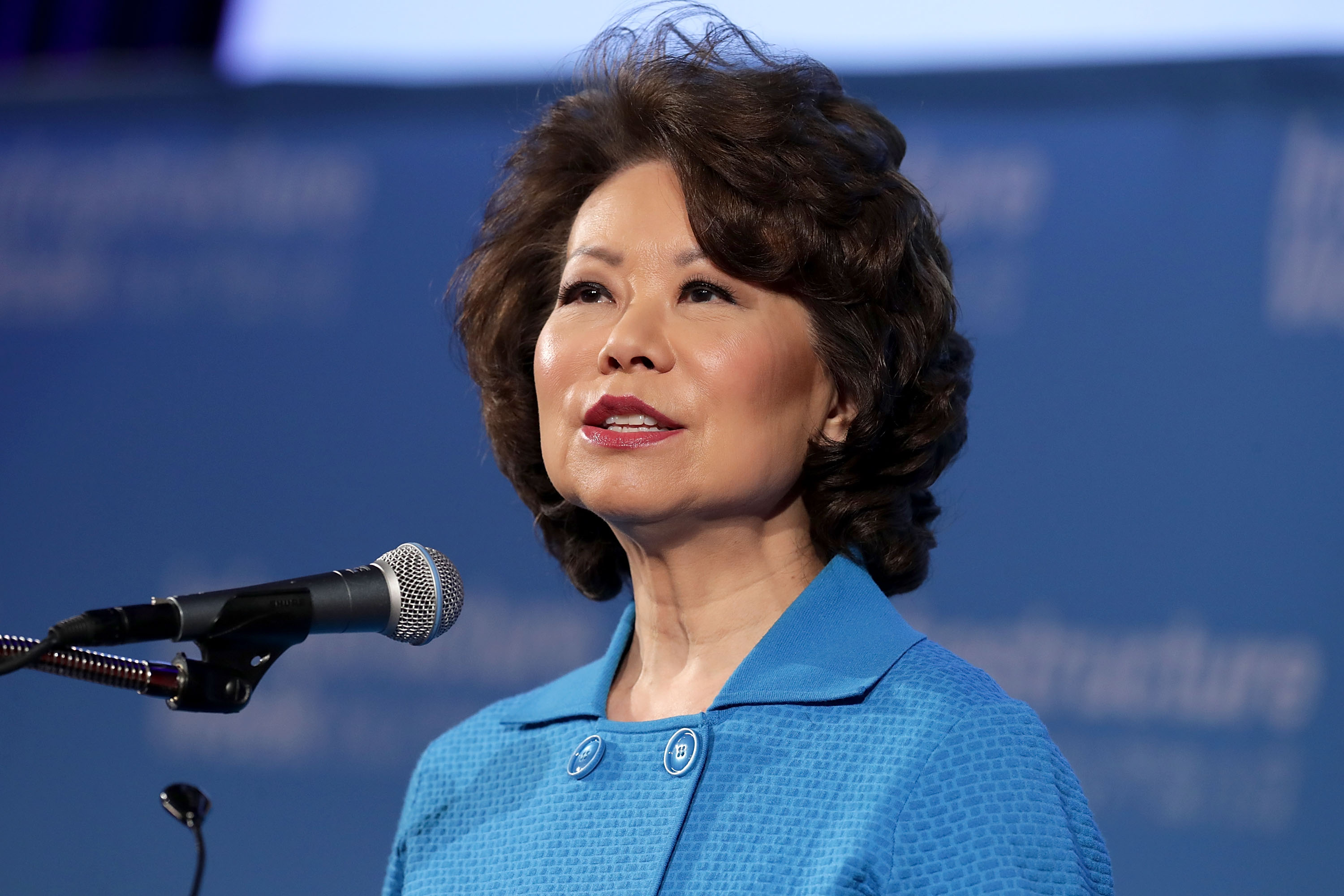 Fear Of Driving >> 11alive.com | Transportation Secretary Elaine Chao in Atlanta Thursday for I-85 bridge ribbon ...