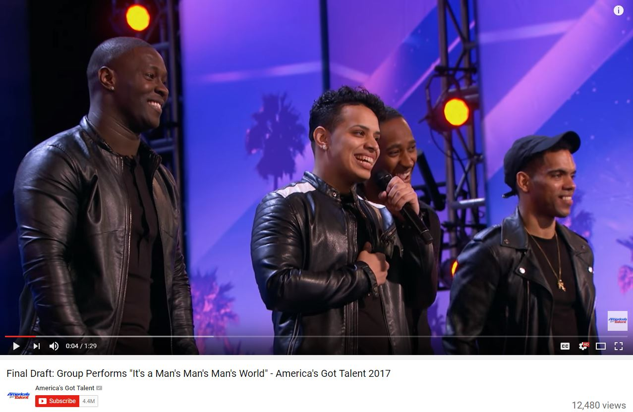 Americas got talent 2017 june 27 - Atlanta Group Final Draft Brings Down The House During America S Got Talent Auditions 11alive Com