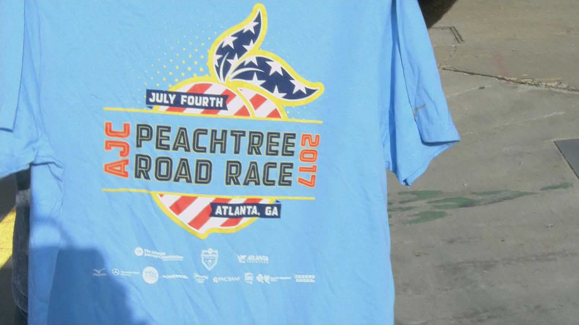 From start to finish the ajc peachtree road race for The peachtree