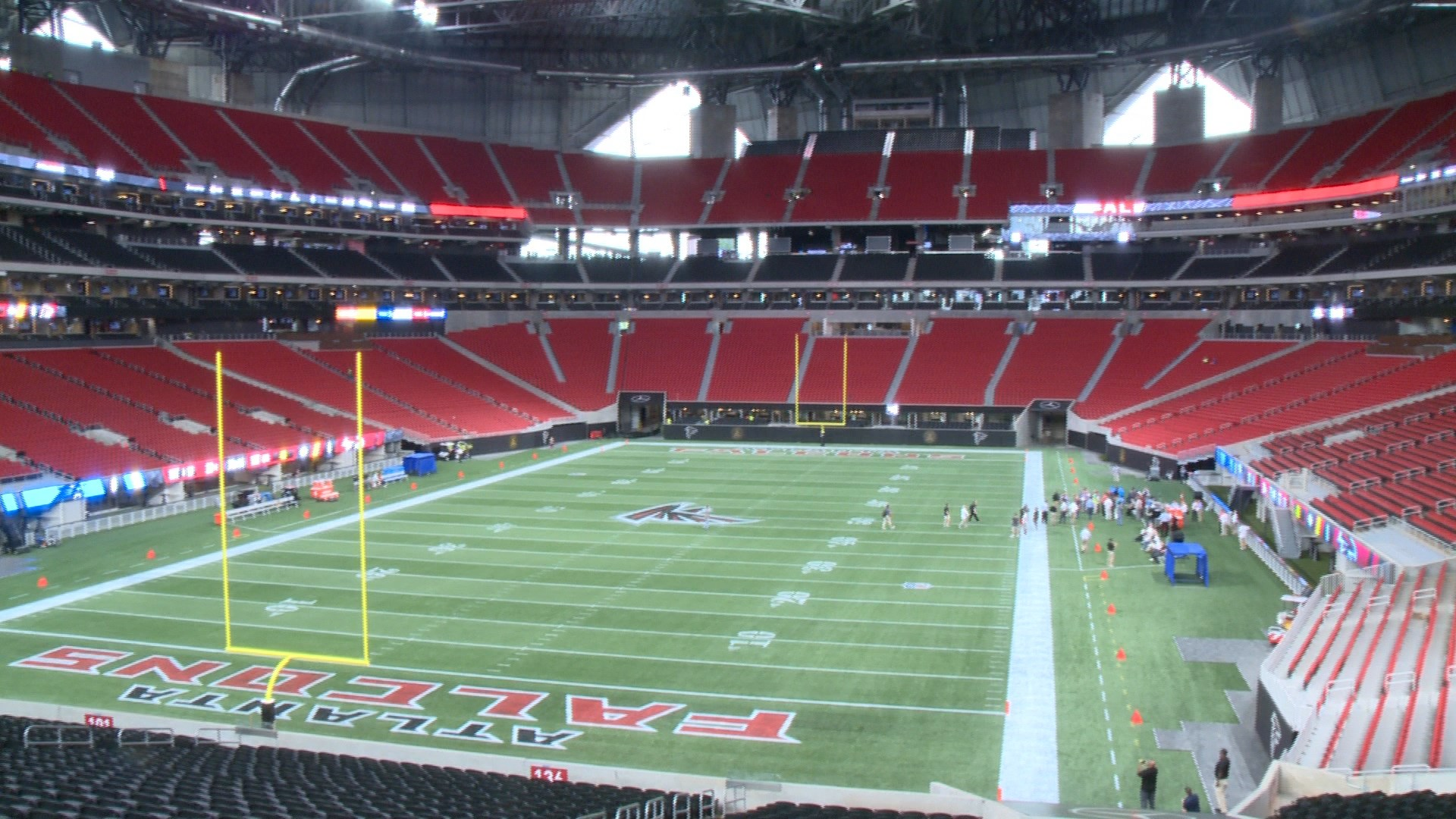 Cheeky articles point out mercedes benz stadium 39 s chick for Address of mercedes benz stadium