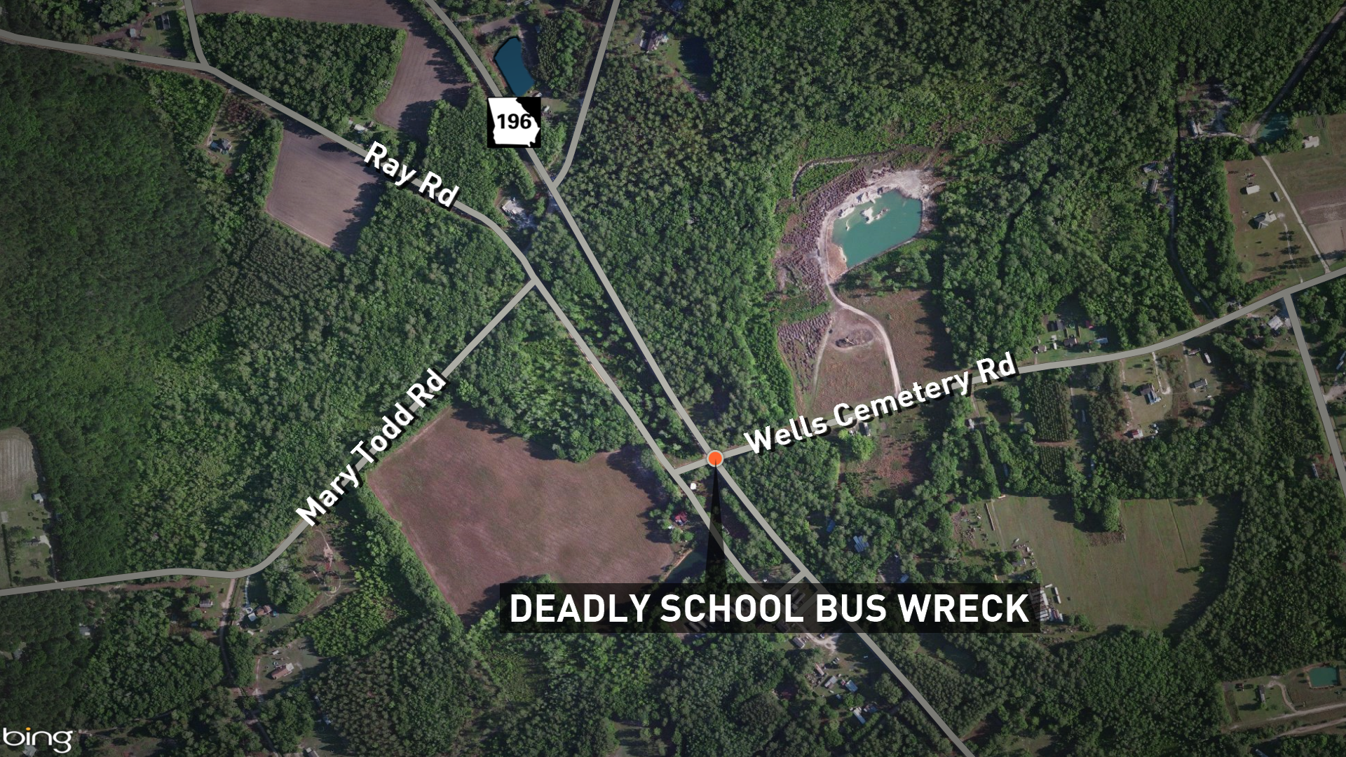 One child killed, 22 hospitalized after Georgia school bus accident