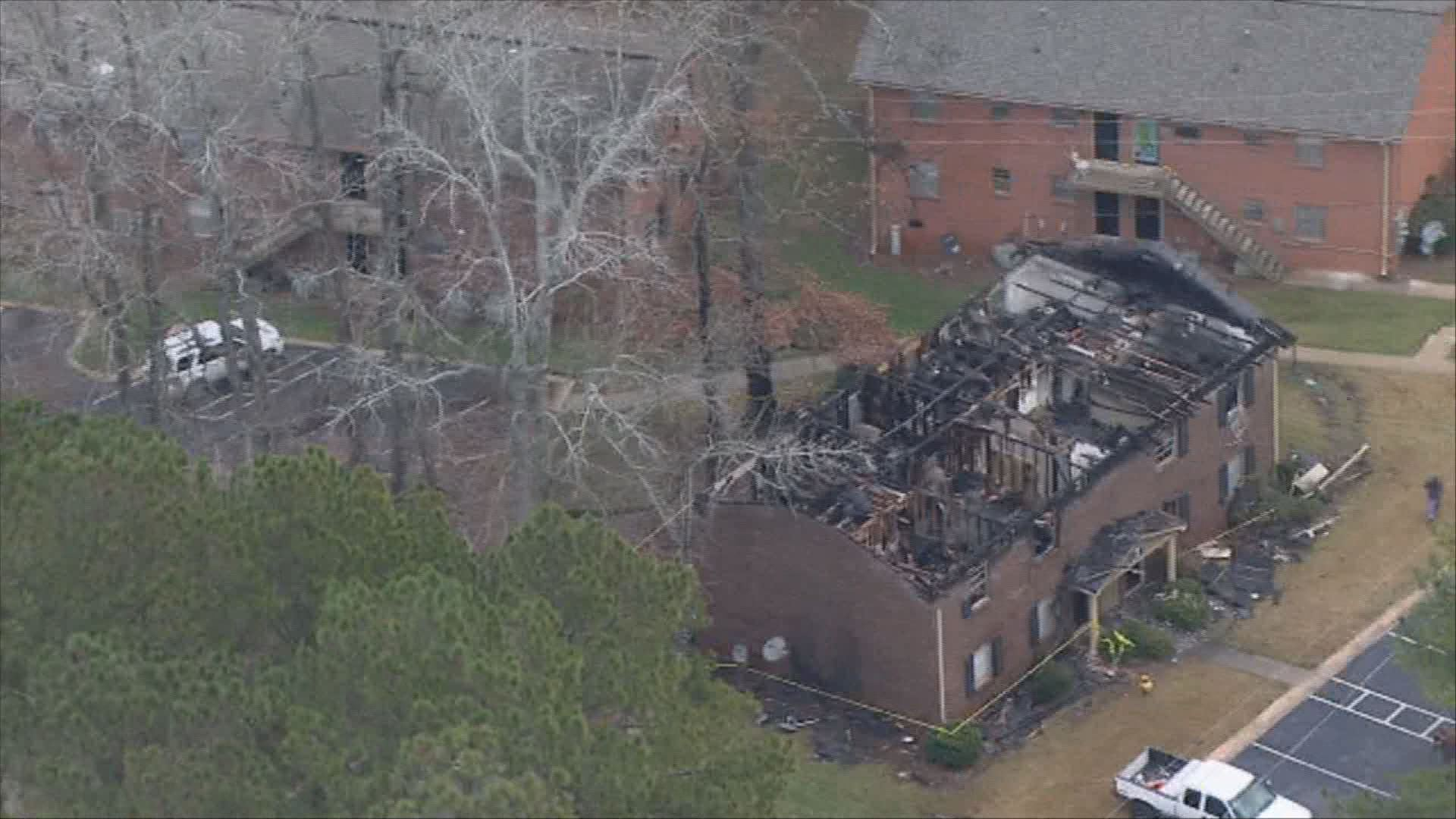 11alive.com | Multiple People Without Homes After Fire Destroys Apartment  Complex