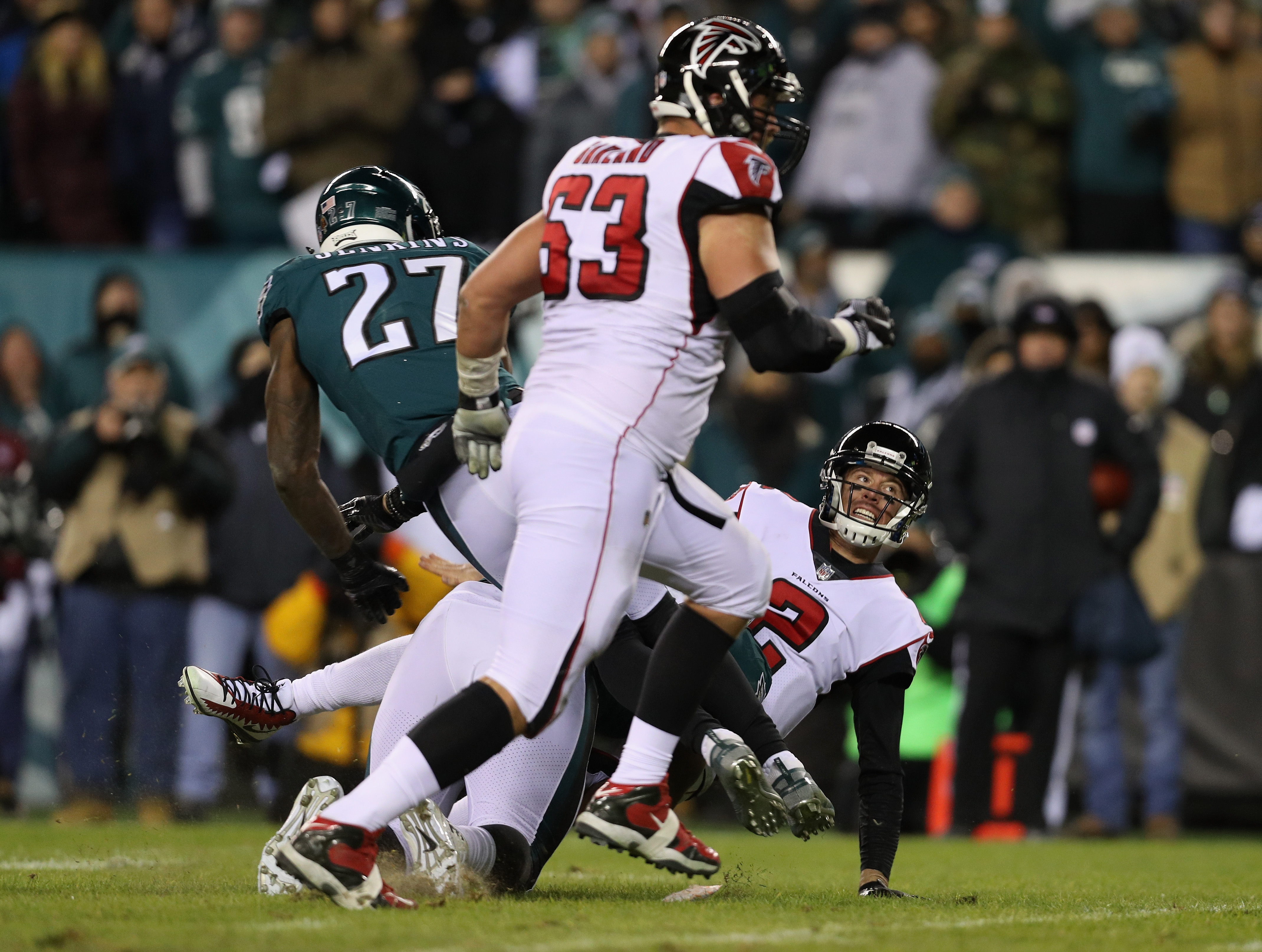 PHOTOS: Falcons vs. Eagles in NFC divisional playoff