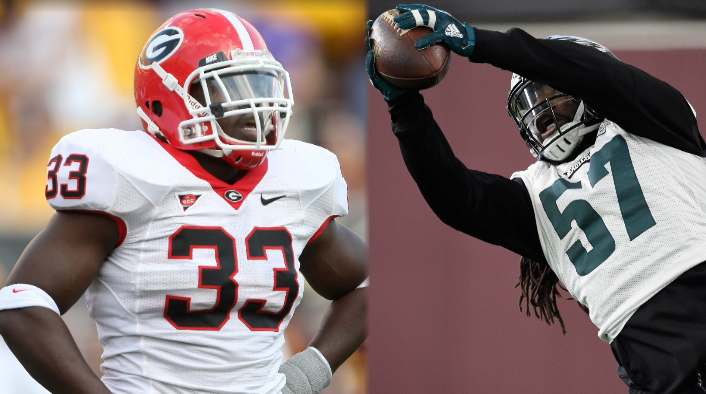 UGA alum Dannell Ellerbe able to turn life around, playing for 2nd ...